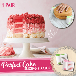 Perfect Cake Slicing Fixator (1 Pair)