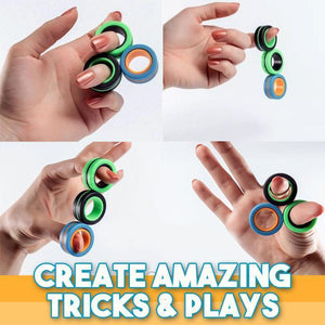 Stress Relief Fidget Rings (3pcs)