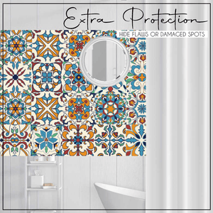 3D Geometric Tile Decals (10pcs)