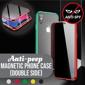Anti-peep Magnetic Phone Case( Double Side) Gadgets szazas