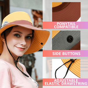 Foldable UV Protection Cooling Hat