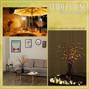 LED Lighted Willow Branches Gadgets LemongrassRice