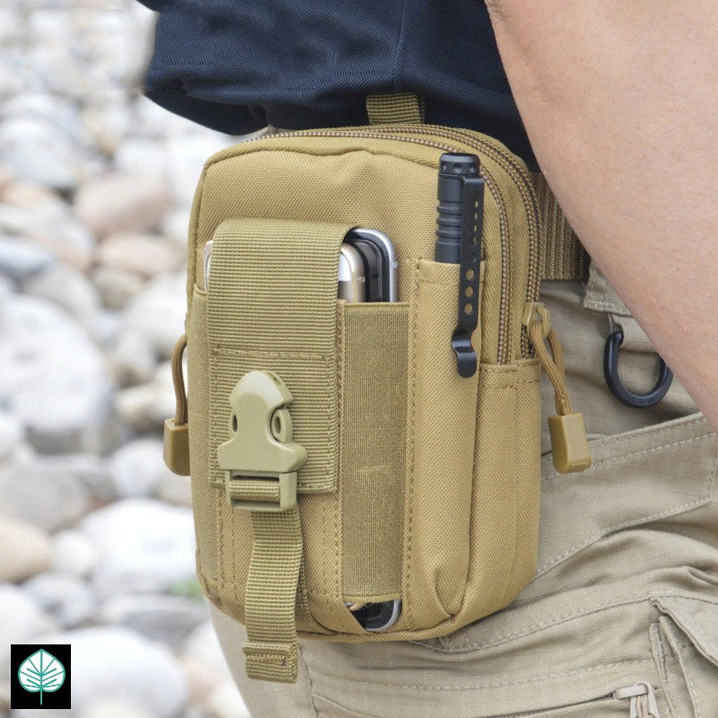 Everlong [Upgraded] EDC Molle Sling Pouch with FREE Flashlight