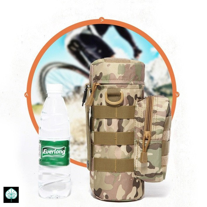 Everlong EDC Water Bottle Sling Pouch with FREE Tac Cap