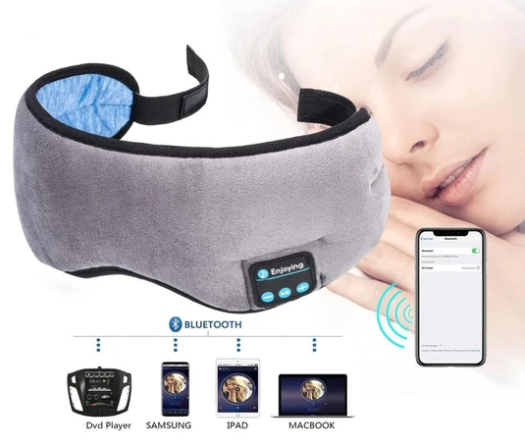 Deep Sleep  - Máscara de Dormir c/ Bluetooth