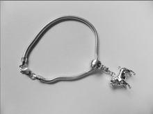 Load image into Gallery viewer, Pug Charm Bracelet