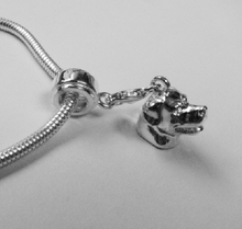 Load image into Gallery viewer, Rottweiler Charm Bracelet