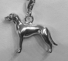 Load image into Gallery viewer, Weimaraner Charm Bracelet