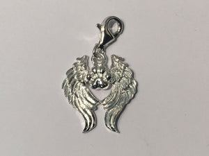 Paws in Heaven Charm - Shiny