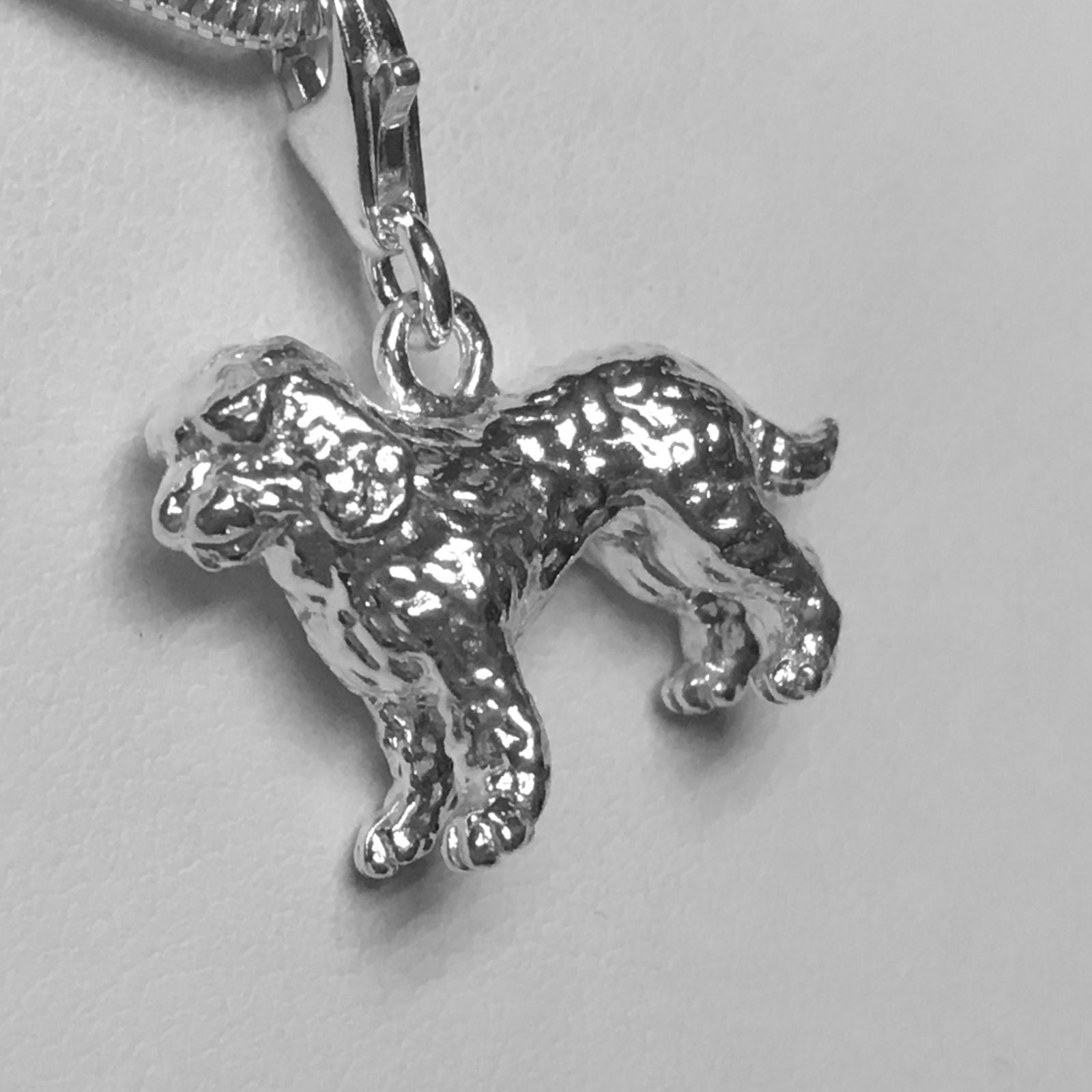 A Cockapoo Pendant with Chain