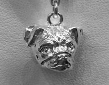 Load image into Gallery viewer, Pug Charm Head