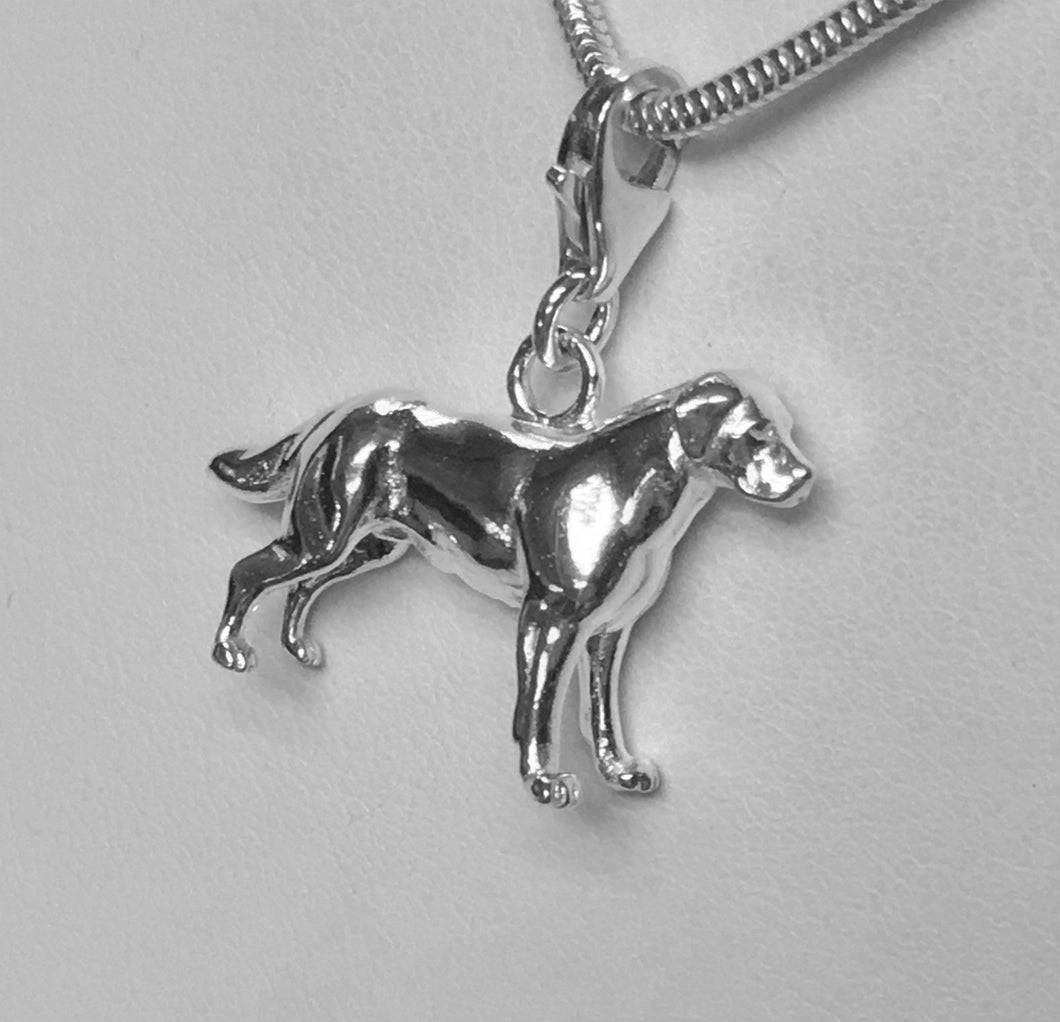 A Labrador Pendant with Chain