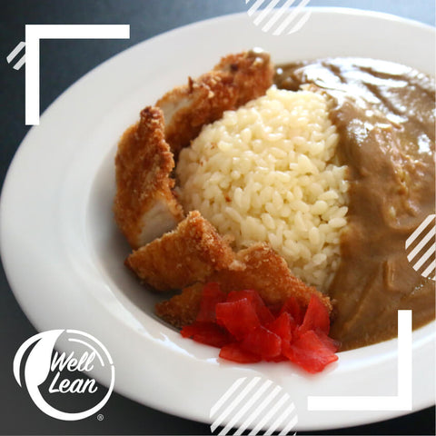 Well Lean Chicken Katsu Curry