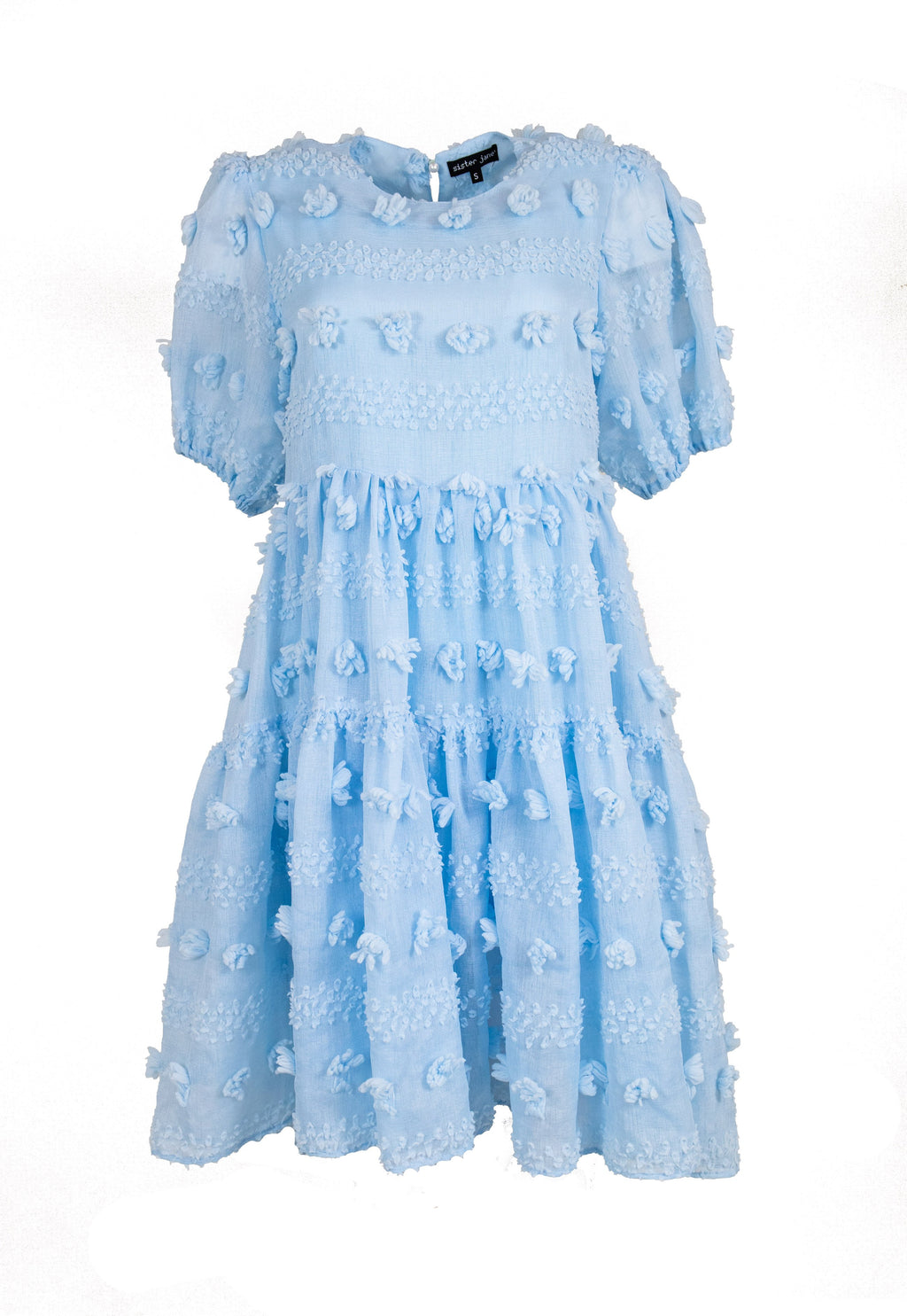 Rent Sister Jane Blue Baby Doll Midi Dress from Rotaro