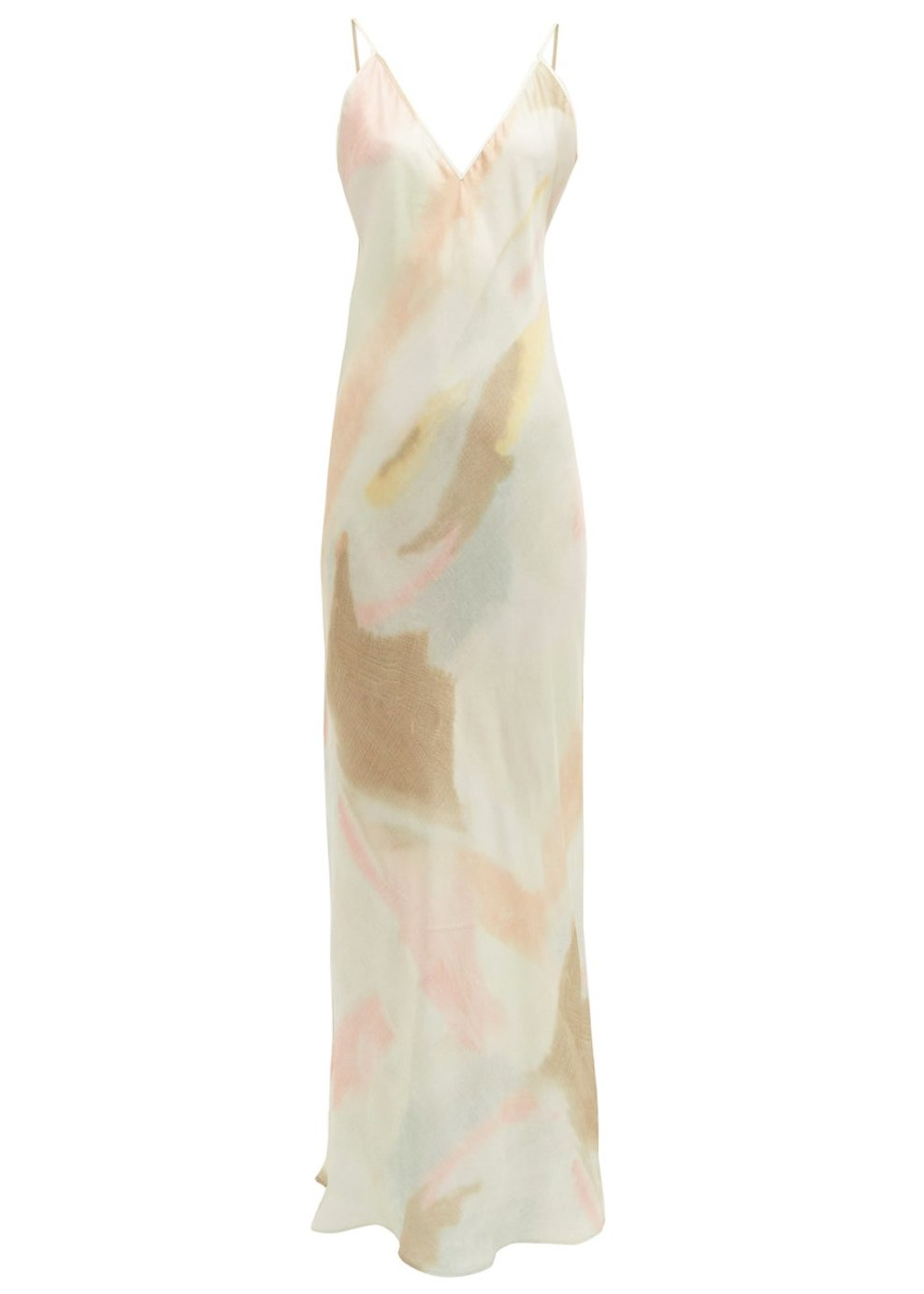Rent Rat & Boa Pastel Tie-Dye Slip Dress from Rotaro