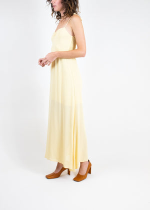Rent Reformation Yellow Crepe Maxi Dress from Rotaro