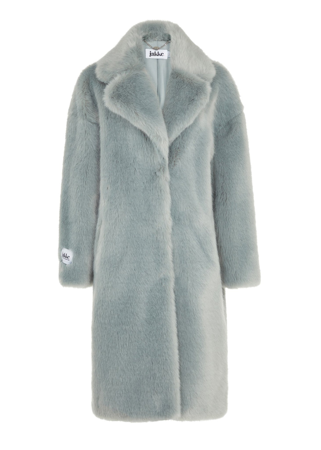 Rent Jakke Katie Blue Faux Fur Coat from Rotaro