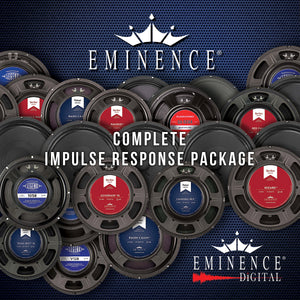 Eminence Complete Impulse Response Package -51 Speakers, 357 IRs