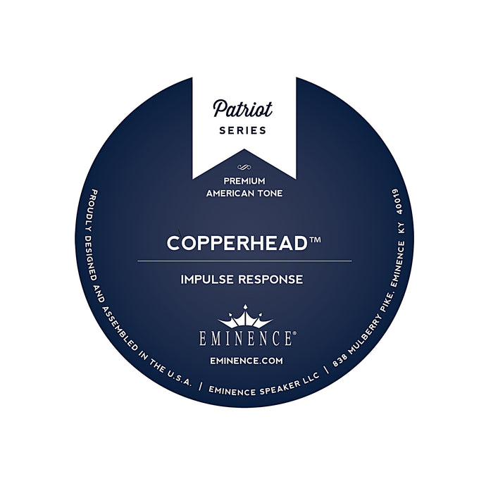 The Copperhead™  Impulse Response