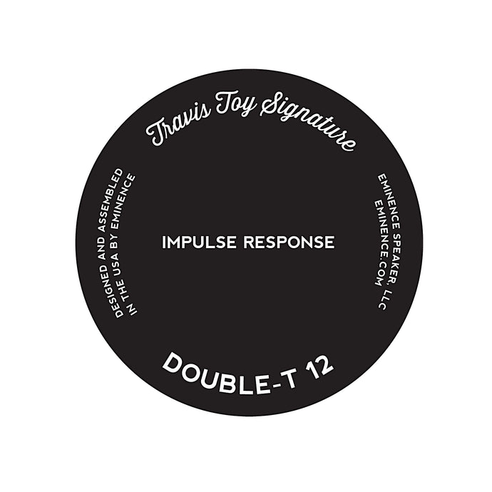 Double-T 12 Travis Toy Signature Impulse Response