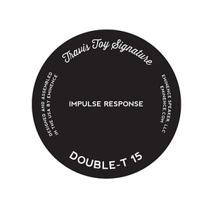 Double-T 15 Travis Toy Signature Impulse Response