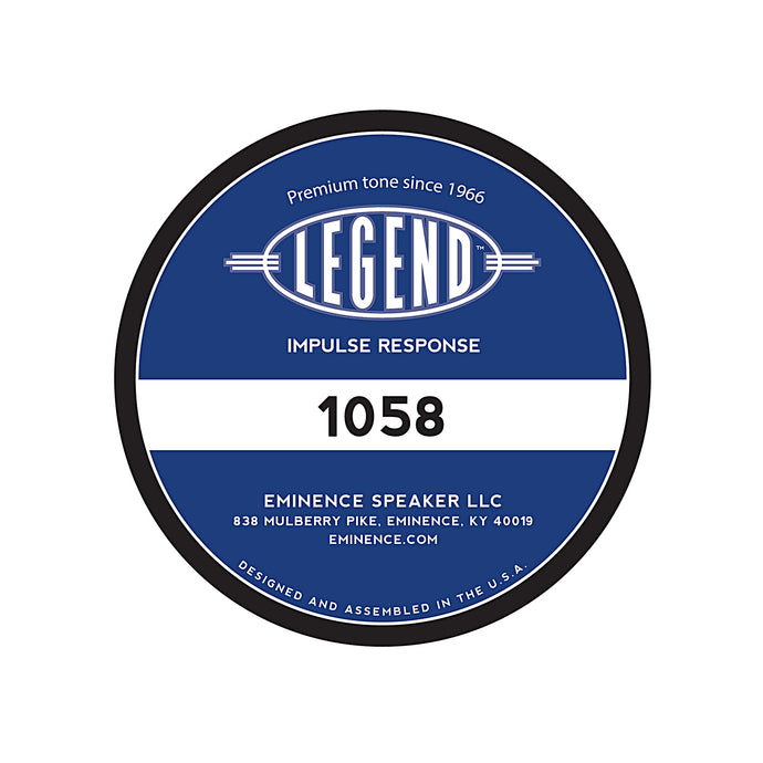 Legend™ 1258 Impulse Response