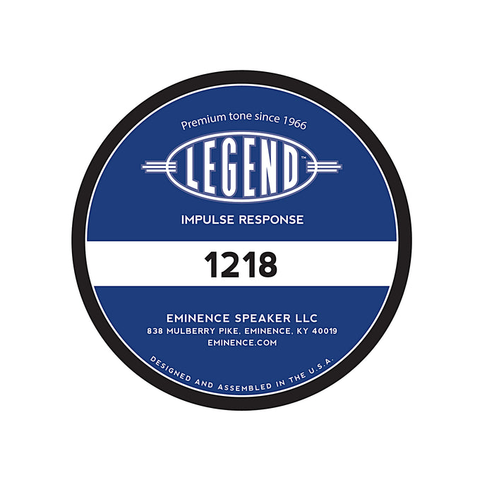 Legend™ 1218 Impulse Response
