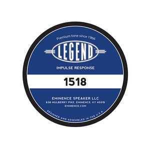 Legend™ 1518 Impulse Response