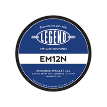 Load image into Gallery viewer, Legend™ EM12N Impulse Response