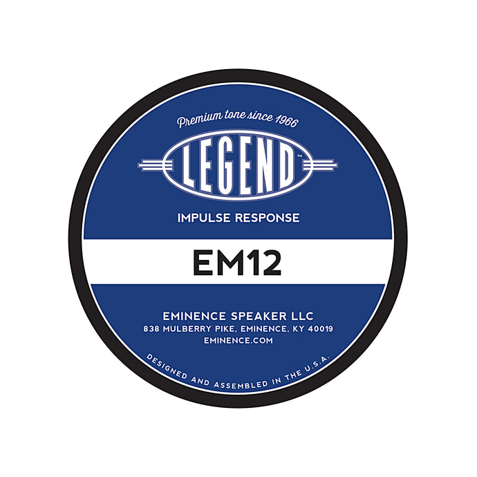 Legend™ EM12 Impulse Response