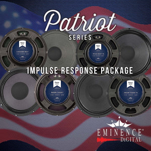Eminence Speaker Patriot Series Impulse Response Package