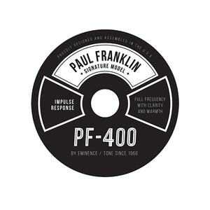 PF-400 Paul Franklin Signature  Impulse Response