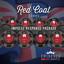 Load image into Gallery viewer, Eminence Redcoat Impulse Response Package - 14 Speakers, 98 IRs