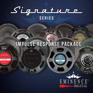 Eminence Signature Series Impulse Response Package -14 Speakers, 98 IRs