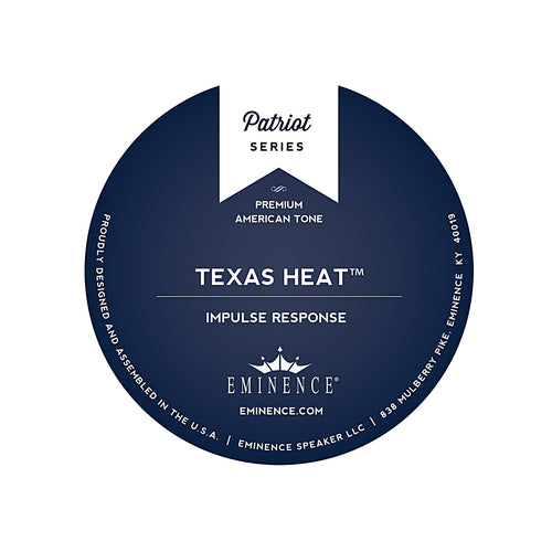 Texas Heat Eminence Speaker IR (Impulse Response) label