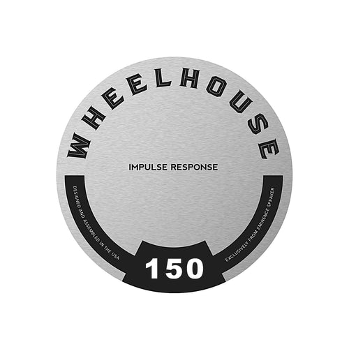 Eminence Speaker IR (Impulse Response) label