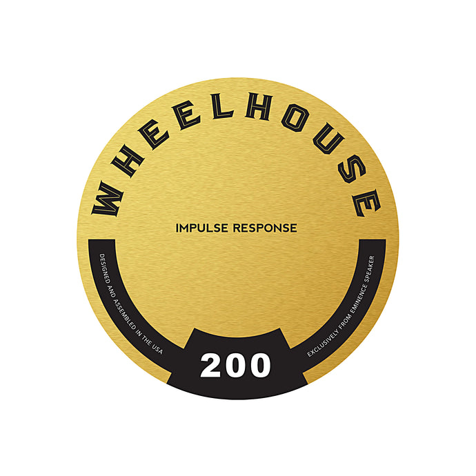 Wheelhouse 200 Impulse Response
