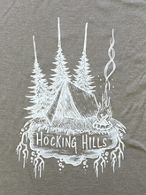 Load image into Gallery viewer, Hocking Hills Camping Tent T-shirt