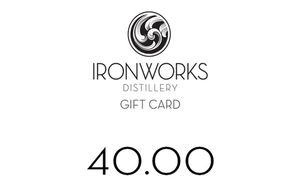 Ironworks Distillery Gift Card