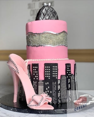 Two Tiered Cake
