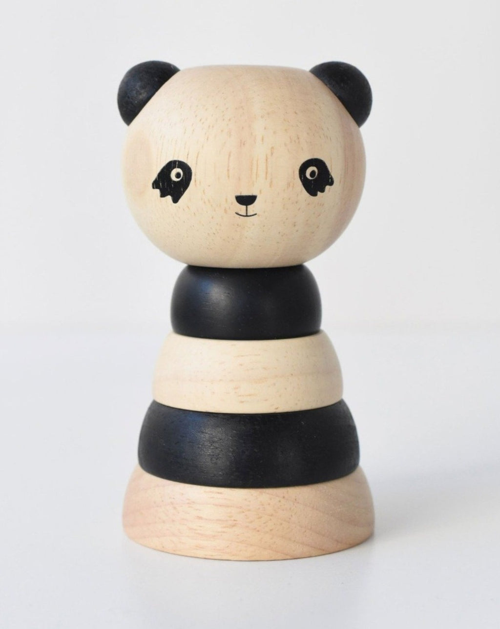 Wooden Panda Stacking | Baby Toy
