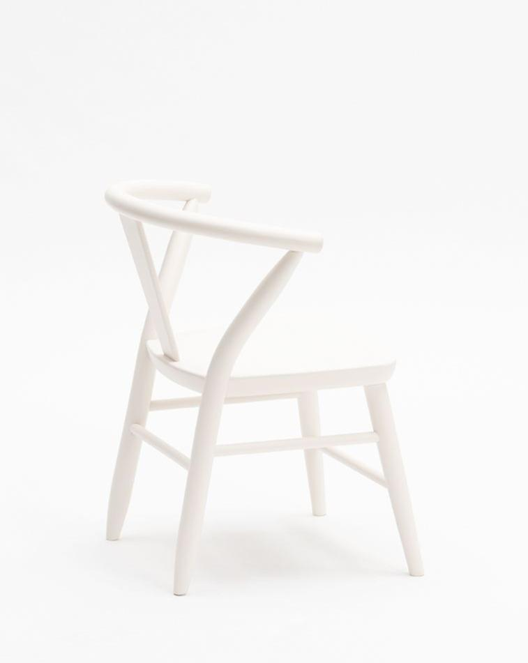 Crescent Chair - Pair - White | Milton & Goose Kids Furniture