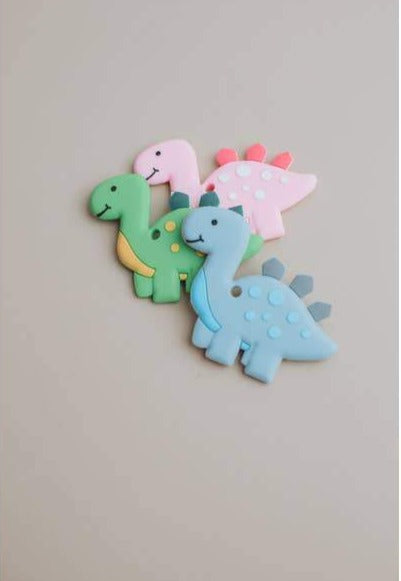 Dino Silicone Teether | BPA, cadmium, phthalates, PVC and lead free
