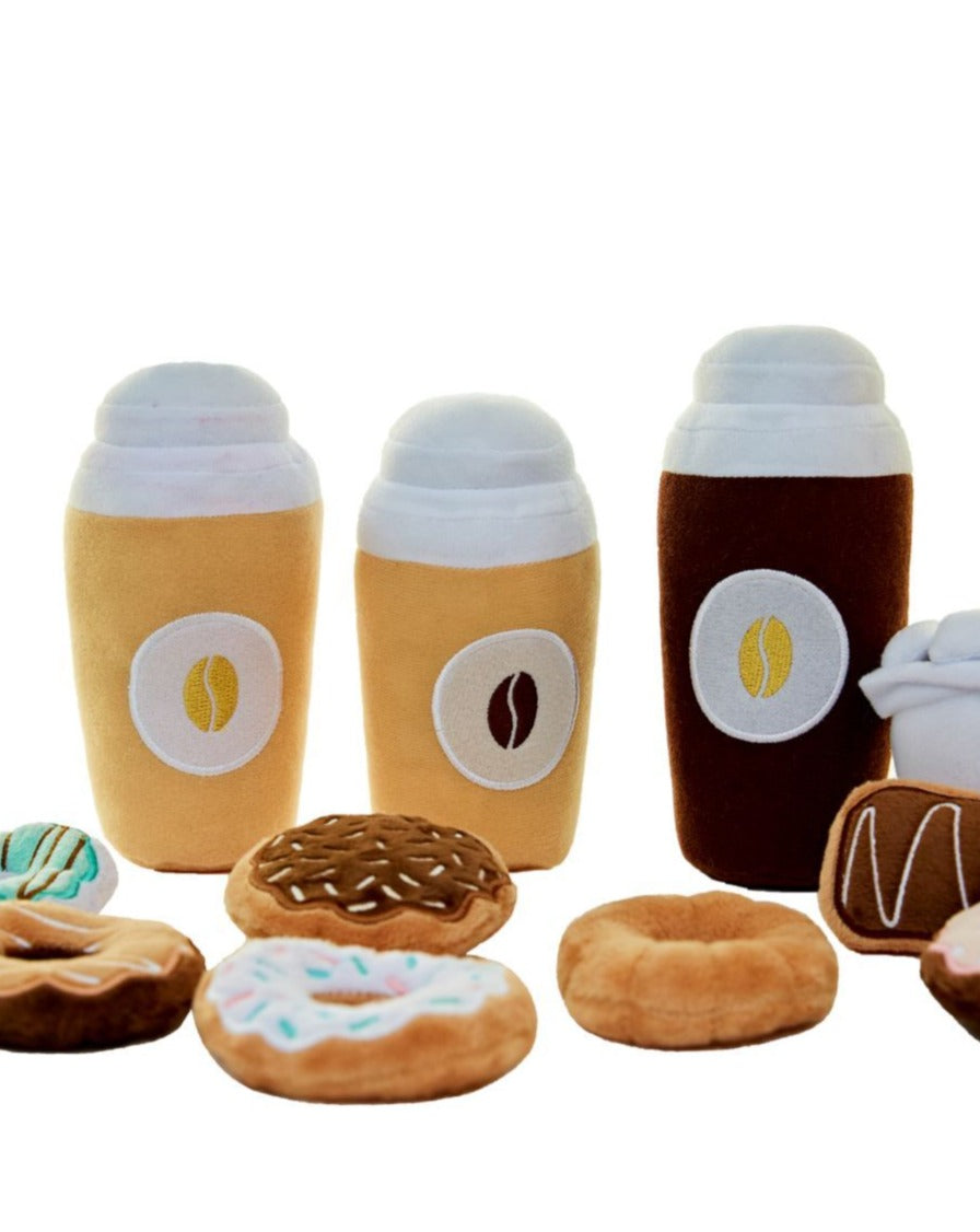 Coffee & Donut Play Food Set