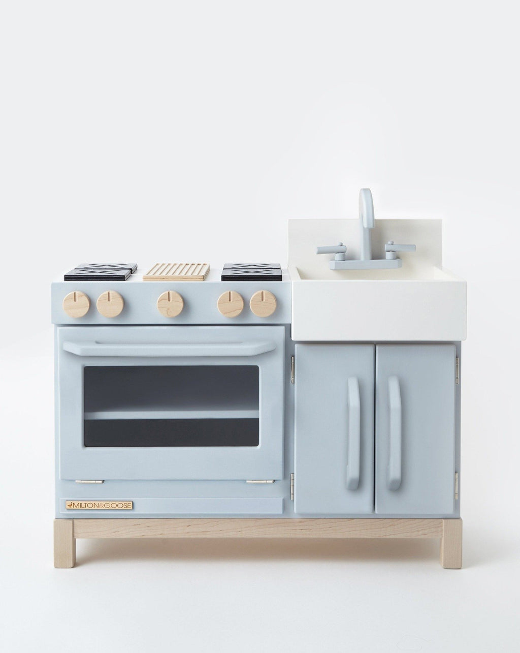 Essential Play Kitchen-Grey| Milton & Goose Kids Pretend Play Toys