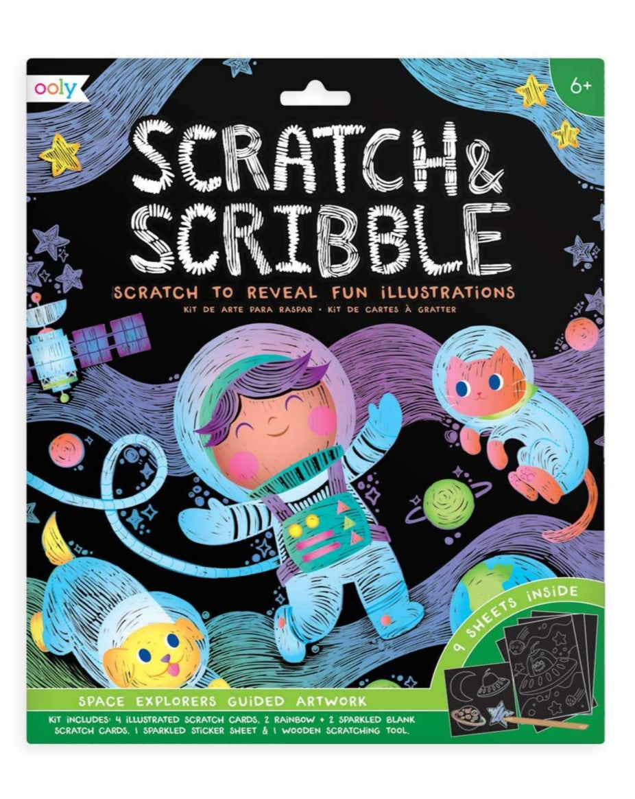 Scratch and Scribble Art Kit Ooly