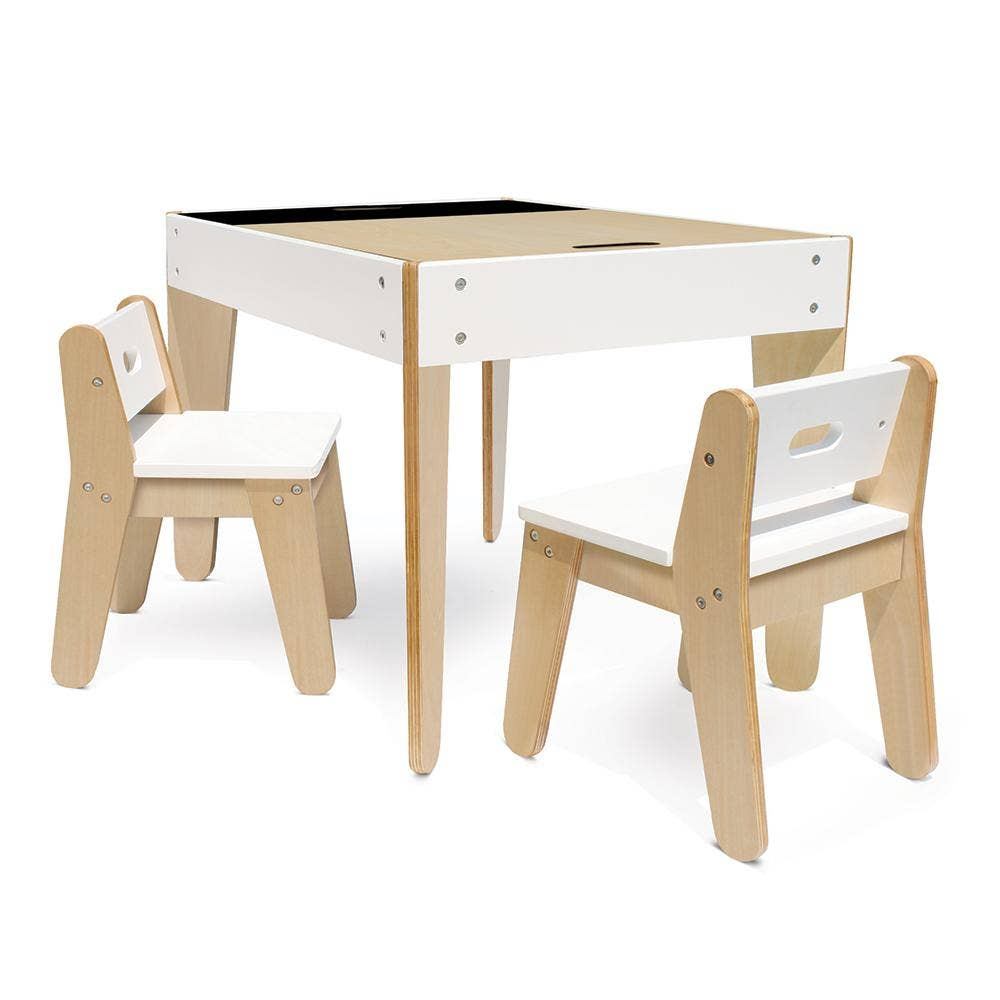 Modern Table and Chairs for Playroom & Toddlers