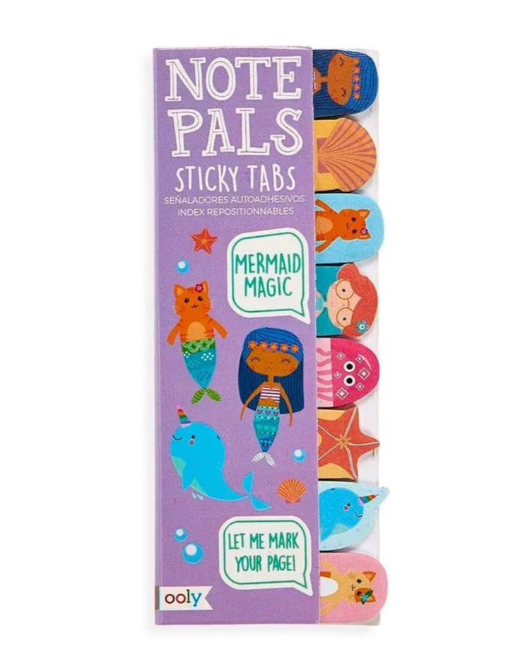 Note Pals Sticky Tabs Mermaid Magic | OOly