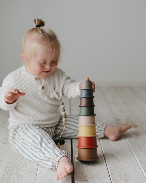 Stacking Cups Toy | Made in Denmark Retro
