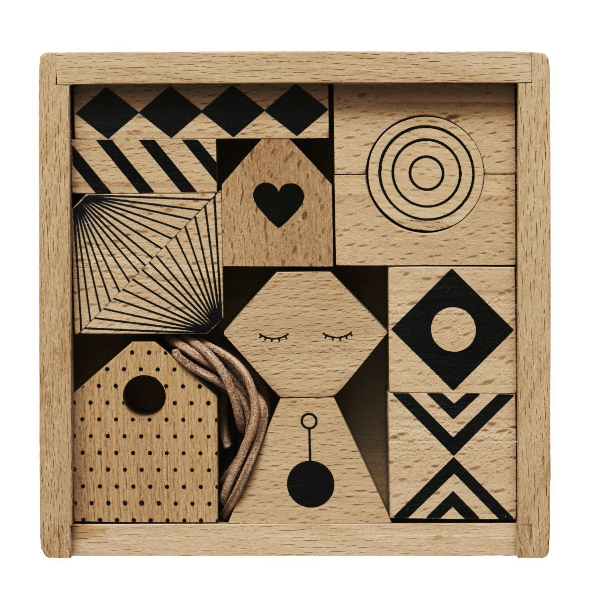 Puzzle Me Wooden Mobile